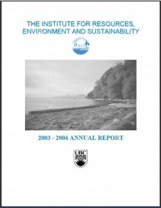 IRES Annual report 2003-2004